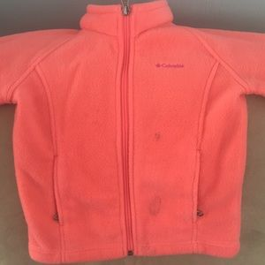 Pink Columbia Toddler size 4 zip up jacket
